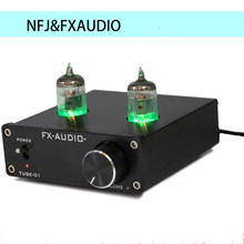 Buy New FX-AUDIO TUBE-01 Bile Preamp Tube Amplifier Preamp Buffer 6J1 Digital HIFI Audio Preamplifier Preamplificador DC12V 1A Power for $31.59 in AliExpress store