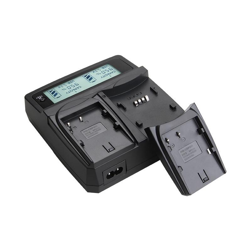 icv 1.2-8.4V 4A Digital Dual Car & Home Charger with USB Port LCD Display for CANON NIKON PANASONIC Camera AA/ AAA battery(China (Mainland))