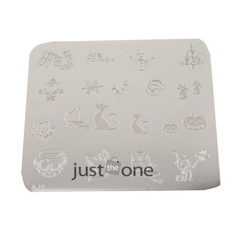 1PCS Fasion Womens Chic Design Nail Art Image Stamping Plates Manicure Template Series 5 DIY Type Hot Nail Accessary(China (Mainland))