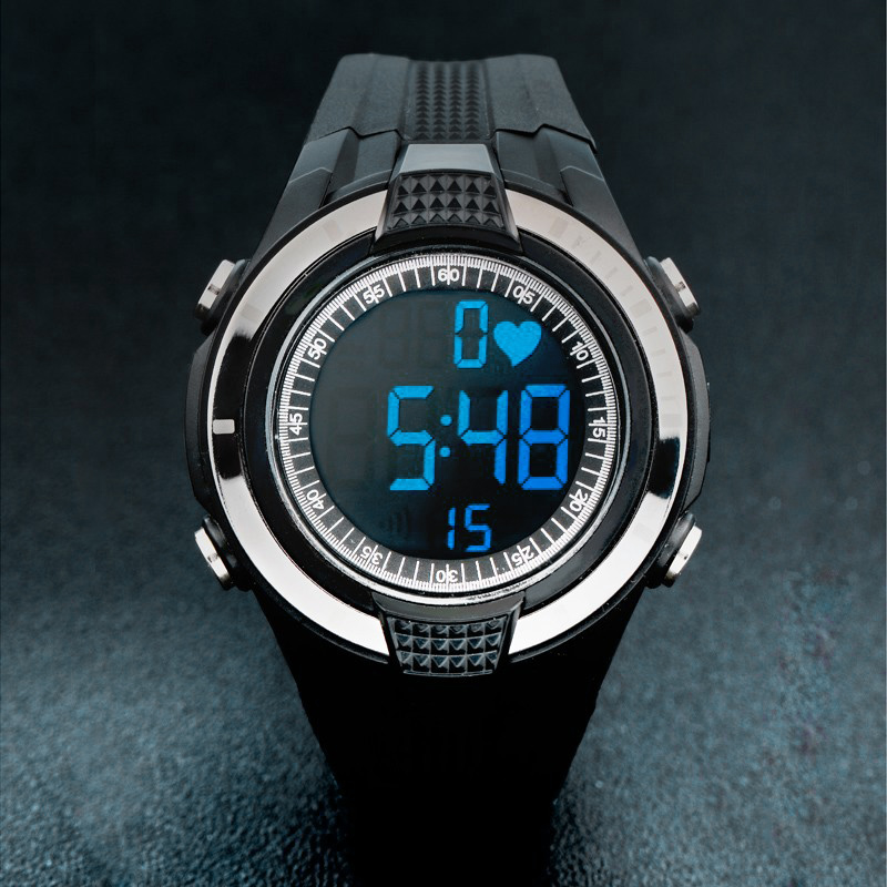 2016 новый беспроводной часы пульсометр фитнес-мужчин спортивные часы нагрудный открытый велоспорт восхождение горячая распродажа