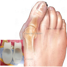 1Pair Feet Care Gel Bunion Big Toe Spreader Eases Foot Pain Foot Hallux Valgus Guard Bone Braces tools for pedicure