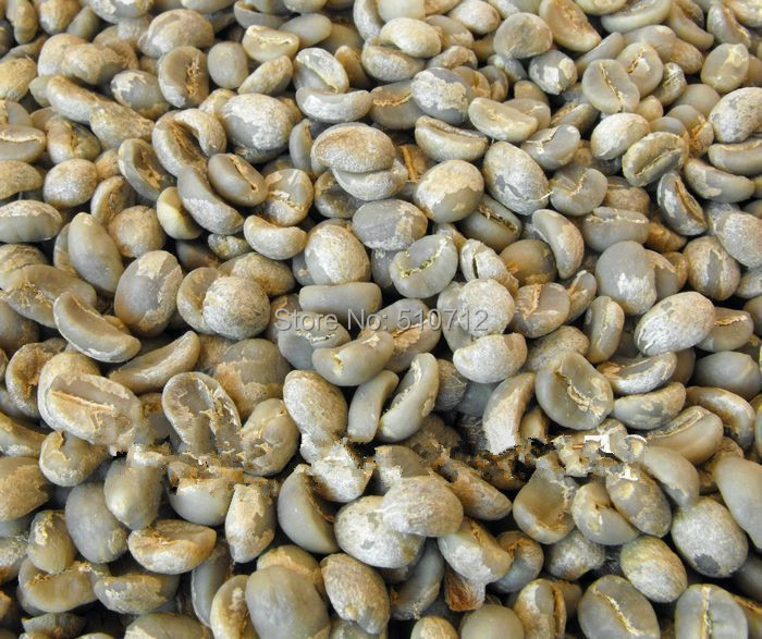 China Yunnan Small Coffee Beans, Arabica A Green Coffee Beans 1000g (2.2lb)