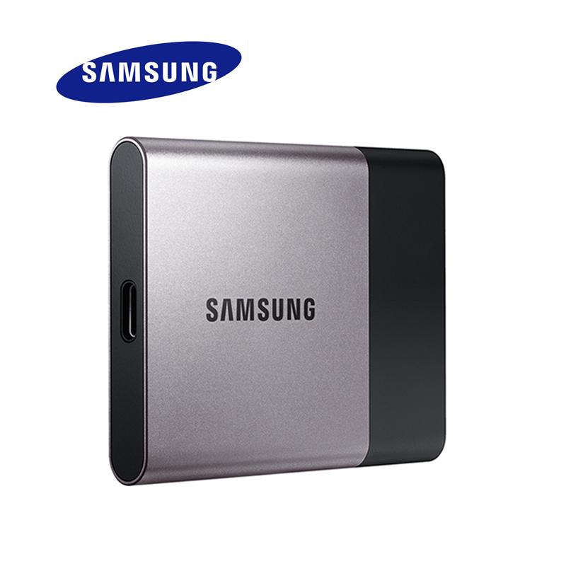 SAMSUNG SSD HDD USB 3.0 500GB T3 External Hard Drive 500 GB for Desktop Laptop PC Free Shipping 100% Original External HD(China (Mainland))