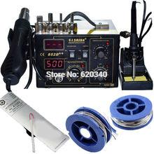 Buy Saike 852D++ Standard Rework Station Soldering iron Hot Air Rework Station Hot Air Gun soldering station 220V 110V + gift ) for $86.00 in AliExpress store