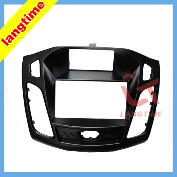 Car refitting DVD frame,DVD panel,Dash Kit,Fascia,Radio Frame,Audio frame for 2011 Ford Focus, 2din<br><br>Aliexpress