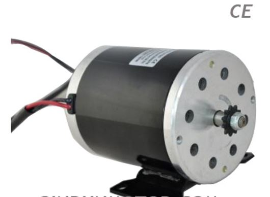 Buy large power gear motor zy1020 dc brush permanent for Dc permanent magnet motor