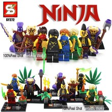 2015 8 unids/lote Ninjago vengadores súper héroes de Star Wars figuras de acción Minifigures SY Building Blocks juguetes para niños juguetes de los ladrillos