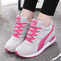 Spring Ankle Increased Shoes Boots New Casual Shoes increased Hidden Wedges Shoes Ladies Breathable Swing Shoes
