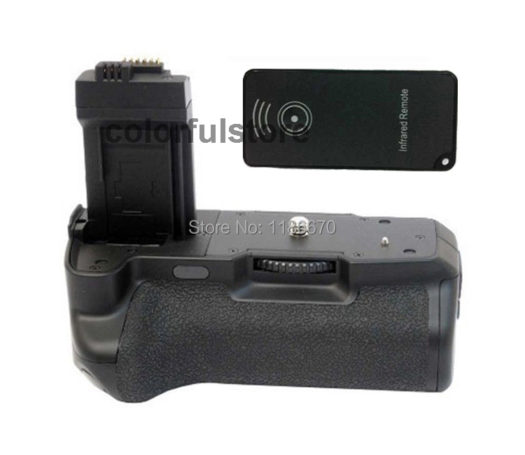 Vertical Battery Hand Handle Grip Holder Pack For Canon EOS 450D 500D 1000D Rebel XSi T1i XS SLR Camera replace BG-E5 +IR Remote(China (Mainland))
