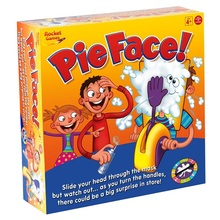 Pie Face Family Funny Game environmental 2016 hot Party game for adult and children birthday fun toys with original box(China (Mainland))