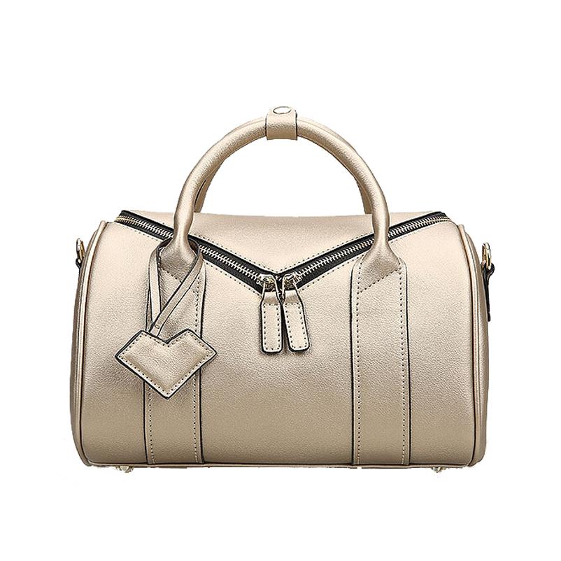 Фотография Famous Brand Fashion Women Bag 2015 New Wiliamganu High Quality Genuine Leather Women Handbags Women Solid Zipper Messenger Bags