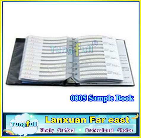 0805 SMD Capacitor sample book, 92 values X 50pcs=4600pcs, Electronic Components Package, Samples kit , free shipping(China (Mainland))