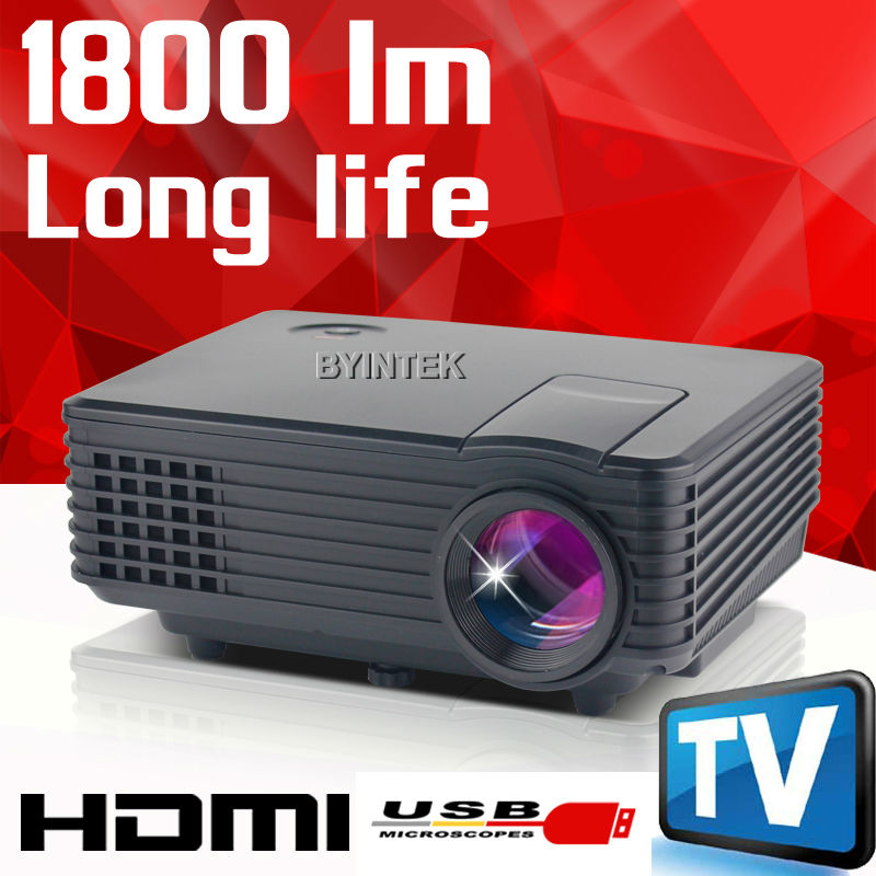 Buy 2016 best new hd 1080p video tv lcd for Best pico projector 2016