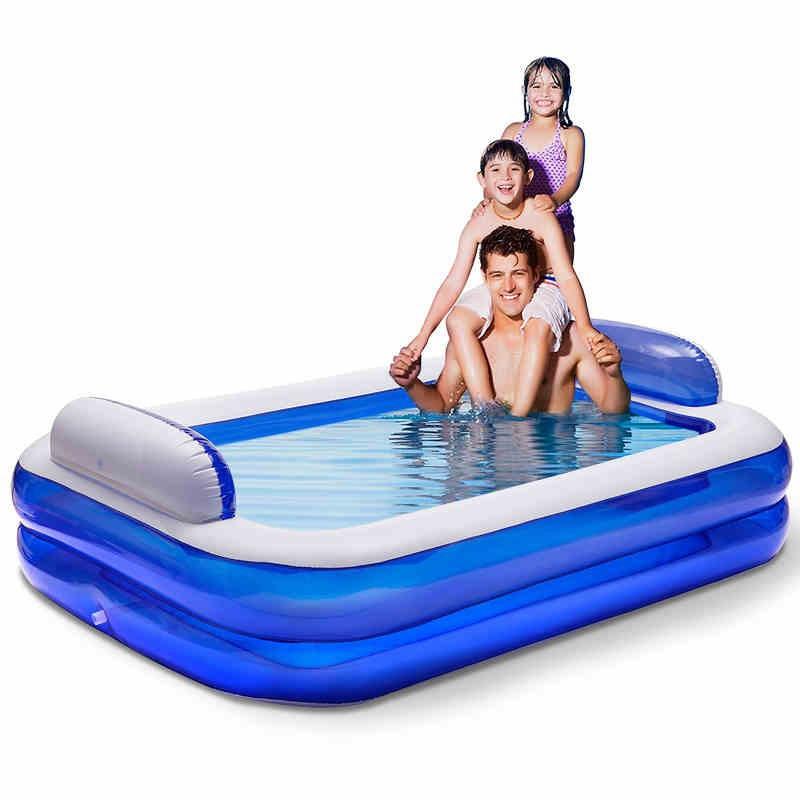 Piscina da família extra grande piscina inflável terno para adultos e crianças verão toy atacado(China (Mainland))