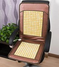 Use pure natural jade, encryption, heat evenly, with thick leather bag, durable. Jade cushion germanium stone cushion office hea(China (Mainland))