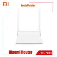 Оригинальный Xiaomi маршрутизатор молодежный вариант Xiaomi мини-wifi роутер ми портативный wi-fi ретранслятор поддержка throughwall iOS / Android приложение