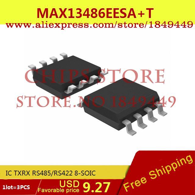 Бесплатная Доставка Горячей Продажи Smart Electronics Integrated Circuit MAX13486EESA IC TXRX RS485/RS422 8-SOIC 13486 MAX13486 13486E 3 ШТ. бесплатная доставка горячей продажи smart electronics integrated circuit tlv3501aidrg4 ic comp r r 4 5ns hs 8 soic 3501 tlv3501 3 шт