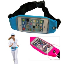 Sport GYM Waist Pack Pouch Waterproof Running Bags Wallet phone Case for Nokia 625 635 636 928 RM-977 E900 pocket Universal