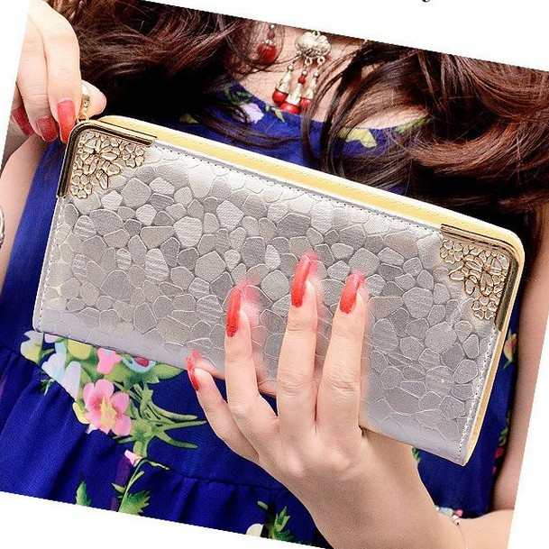 New Fashion Carteras Mujer Women Wallet Clutch Lady Wallets Female Case Phone Femininas Money Bag Purse for Card Holder Handbags(China (Mainland))
