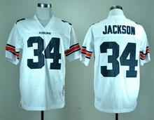 Best quality Auburn Tigers 2 Cam Newton 34 Bo Jackson College Football Jersey Embroidery Logo(China (Mainland))