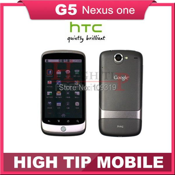 G5 Original HTC Google Nexus One G5+ Android+3G+5MP+GPS+WIFI+3.7''TouchScreen+Unlocked Mobile Phone+Free shipping Refurbished(China (Mainland))