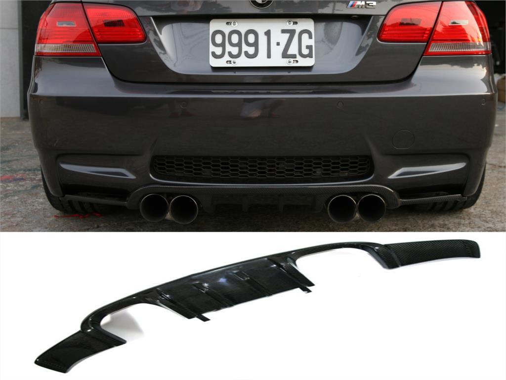 E90 M3 Styling Carbon Fiber Car Rear Diffuser For Bmwauto Infiniti G37 Back Bumper Lip Spoiler
