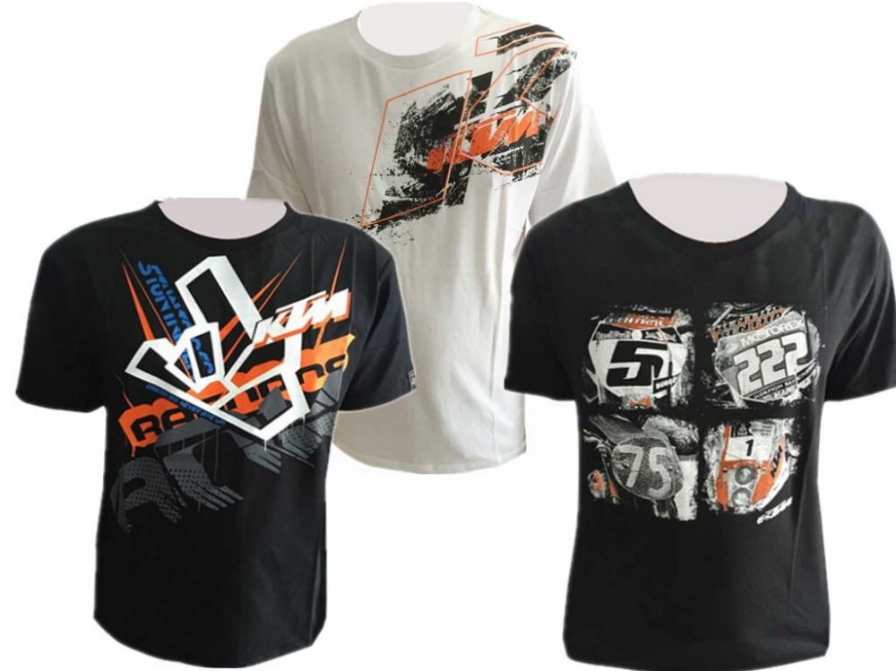 2015 moto ktm t shirt mens racing motorcycle tees mtb moto gp dirt bike t shirt summer short. Black Bedroom Furniture Sets. Home Design Ideas