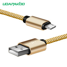 Buy 8 pin iPhone 5 5s 6 6S 7,nylon Gold plated micro USB 2a fast Charger Cable samsung galaxy j5 a5 s7 huawei p8 lg htc moto for $4.82 in AliExpress store