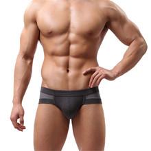 Modern 2015 Fashion Net breathable Men's Sexy Cotton Underwear shorts men underpants Soft Briefs clothes Jul23(China (Mainland))