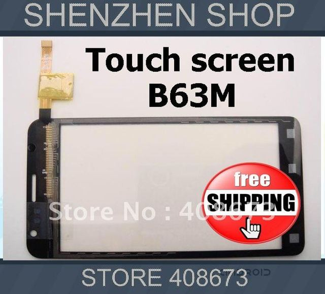 Original B63M New Touch Screen Digitizer/Replacement for STAR B63M ANDROID Phone Free ship Airmail  + tracking code
