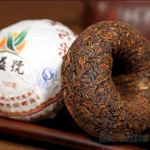 Xin Yi Hao Menghai Tuo Cha Puer Tea 100g Ripe 1MZP