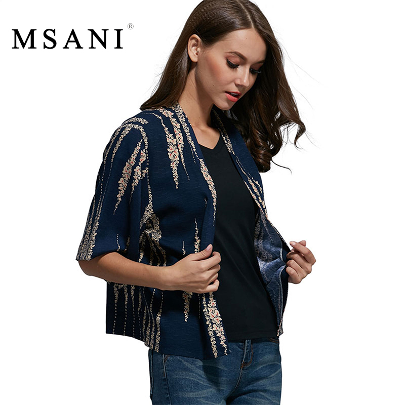 MSANI Brand 2016 New Spring Summer Ladies Vintage Floral Print Loose Cape Kimono Cardigan Blouse Shirt Women Casual Tops 99034(China (Mainland))