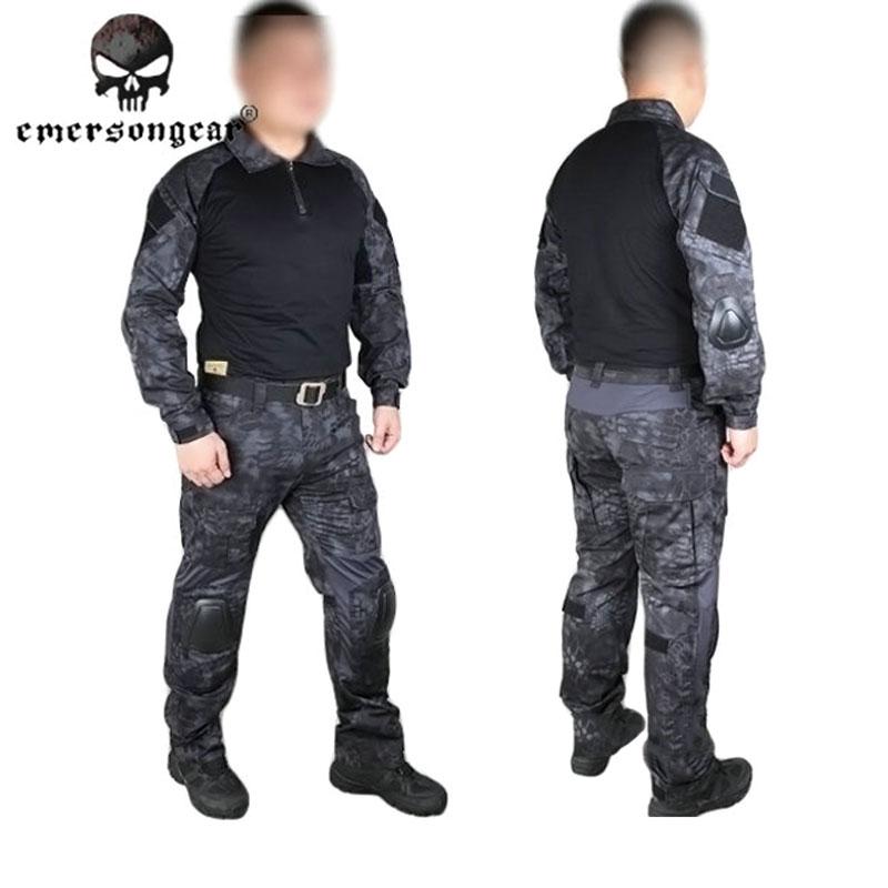 Emerson Kryptek Typhon Gen2 Combat uniform Tactical gear shirt and pants Army BDU set TYP EM6927<br><br>Aliexpress