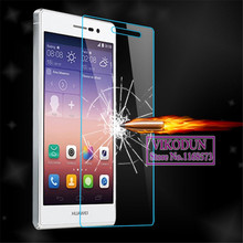 Buy tempered glass huawei honor 7 7i honor 6 Plus 6+ honor 3x 4x 5x honor 3c 4c 4A screen protector clear tempered glass film 9H for $1.11 in AliExpress store