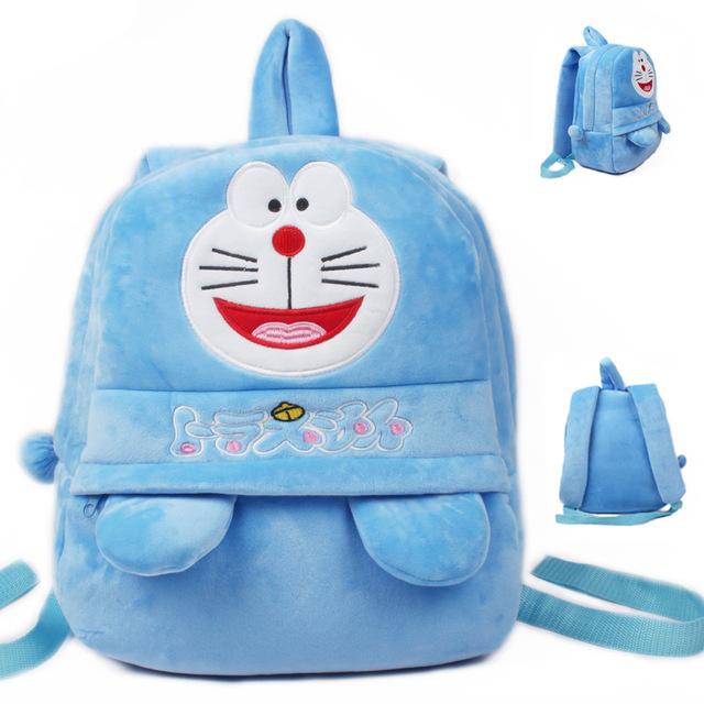 Новое поступление качество Doraemon плюшевые мультфильм рюкзак дети характер мешок подарок для детей в возрасте 5 - 7 Mochila Infantil горячая