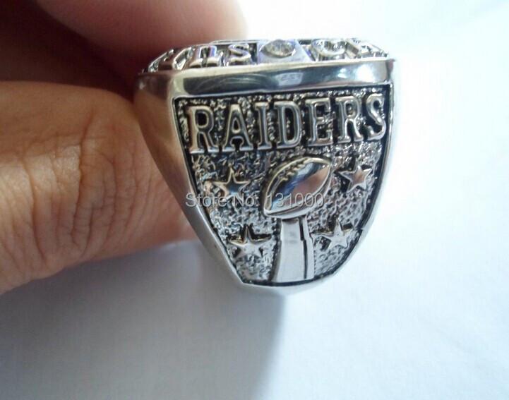 Рейдовиков окленд чемпионов кольцо размер 11 75 g серебристый белый