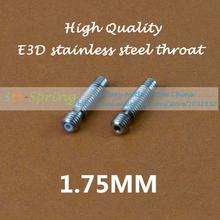 E3D Heat Break Hotend Throat For 1.75mm Filament Makerbot E3D Throat Tube Pipes For 3D Printer