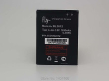Latest production 1650mAh High quality mobile phone battery for fly IQ4416 iq4416 bl3812 battery free shipping
