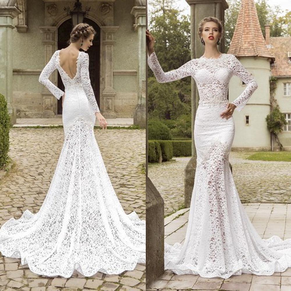 Designer Open Back Wedding Dresses
