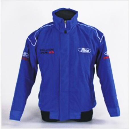 Синий толстый форд куртка MOTO GP мотоцикл байкер водитель автомобиля зимний хлопок ...