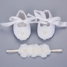 2016 new Party baptism princess shoes baby girl 3 pcs flower headbands set,baby photo props infant shoes,baby girl boots #JH051(China (Mainland))