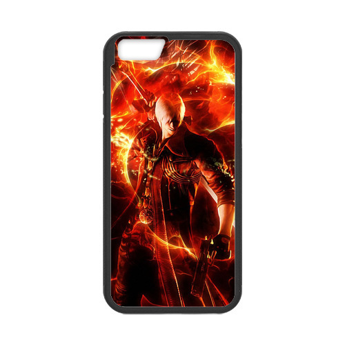 Devil May Cry Fire Cover Case for iPhone 4 4S 5 5S 5C 6 plus Touch5 Samsung Galaxy S3 S4 S5 Mini S6 Edge Note 2 3 4 A3 A5 A7(China (Mainland))