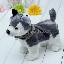 Cute Funny Singing Dancing Walking Electronic Moving Husky Dog Puppy Toy Gift For Kids Children Girl Child (China (Mainland))