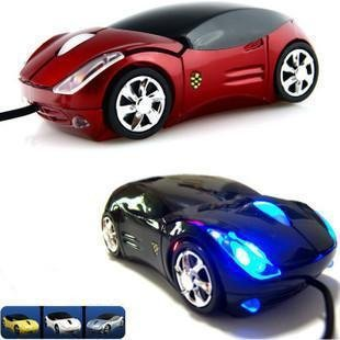 Wholesale -Free Shipping Dropship New 3D Car Shape Optical USB Mouse 3D Car Shape Optical USB Mouse for PC Laptop Computer<br><br>Aliexpress