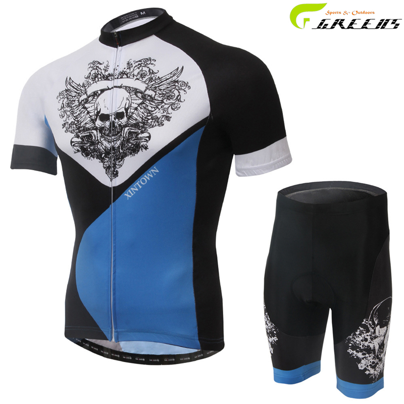 New Cycling Jersey Set Short Sleeve for Summer Polyester Fabric Quality Guarantee Cool/Cycling Clothing/ropa ciclismo hombre(China (Mainland))