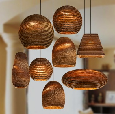 Designers personalized restaurant Cafe naked pupa chandelier Southeast Asian Chinese teahouse paper honeycomb Zen chandelier(China (Mainland))