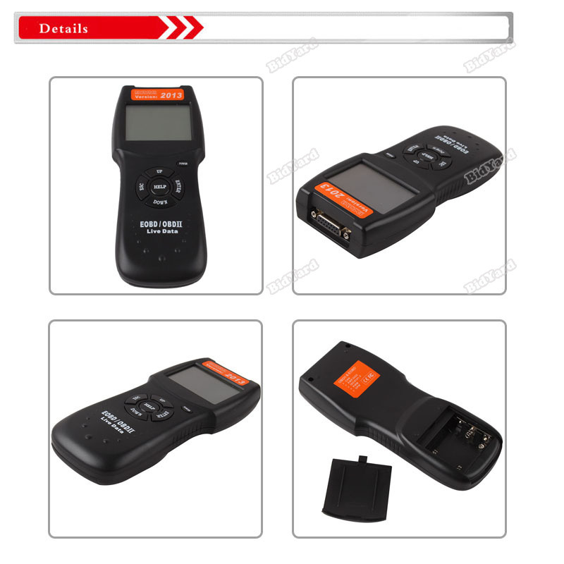 bestChoise Helpful! D900 OBD 2 II CAN Auto Car Diagnostic Scanner Tool Engine Fault Code Reader 2014 Personalized!(China (Mainland))