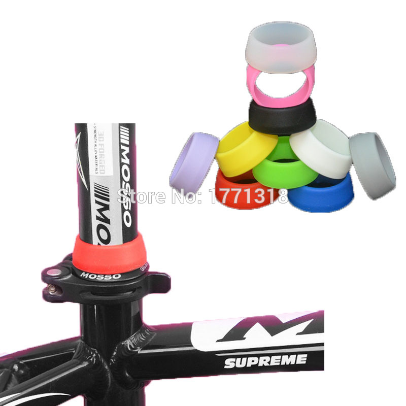 MTB mountain bike rubber protect cap road bicycle seatpost clamp For 25.4/27.2/28.6//30.4/30.8/31.6 fixed gear seat post clip(China (Mainland))