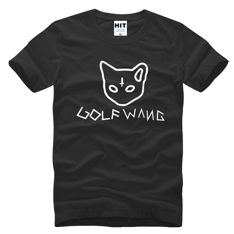 2016 New Fashion Odd Future Ofwgkta T-shirt Golf Wang Tyler T Shirt The Creator Earl Drawing T-shirt Men Clothing(China (Mainland))