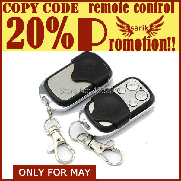 Copy Code Remote Control,universal Remote Control Duplicator,rf gate garage door window(China (Mainland))